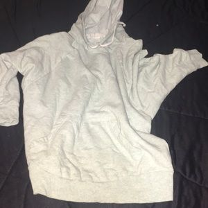 Mint forever 21 light weight 3/4 sleeve hoody